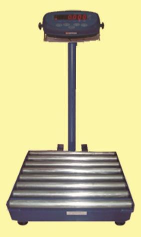 timbangan duduk bench scale roller conveyor