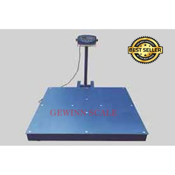 timbangan lantai floor scale 2 ton 1.2x1.2