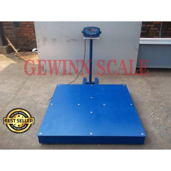 timbangan lantai floor scale 2 ton 1.5x1.5